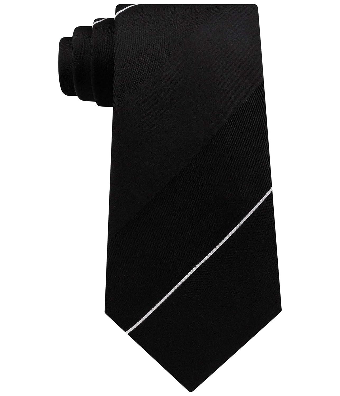 Kenneth Cole Mens Hidden Stripe Self-Tied Bow Tie