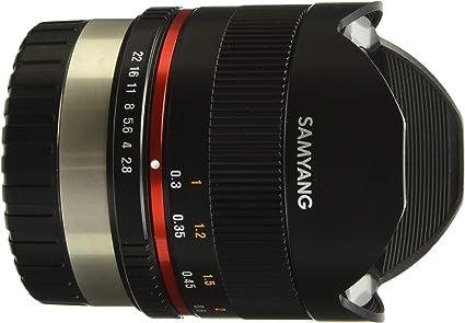 Samyang 8 Mm F2 8 Ii Fisheye Manual Focus Lens For Fuji Camera Photo