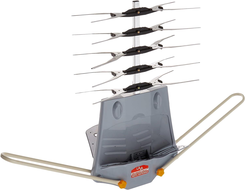 Lava HD-2605 UHF/VHF HDTV antena con mando a distancia, 2 ...