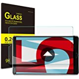 ELTD Tempered Screen Protector for Huawei MediaPad M5 8.4, 9H Hardness, 2.5D Tempered Glass Screen Protector Film For Huawei MediaPad M5 8 Inch 2018, 1 Pack