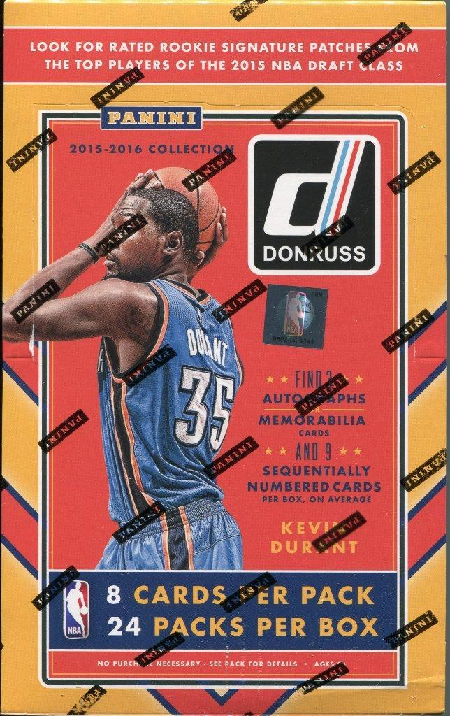 2015/16 Panini Donruss Basketball Hobby Box   B01DUS8WKS