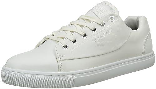 G-Star THEC Mono, Zapatillas para Hombre, Blanco (Bright White 1322), 41 EU: Amazon.es: Zapatos y complementos