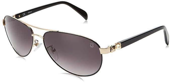 Tous TO STO331S 0301, Gafas de Sol para Mujer, Negro, 58