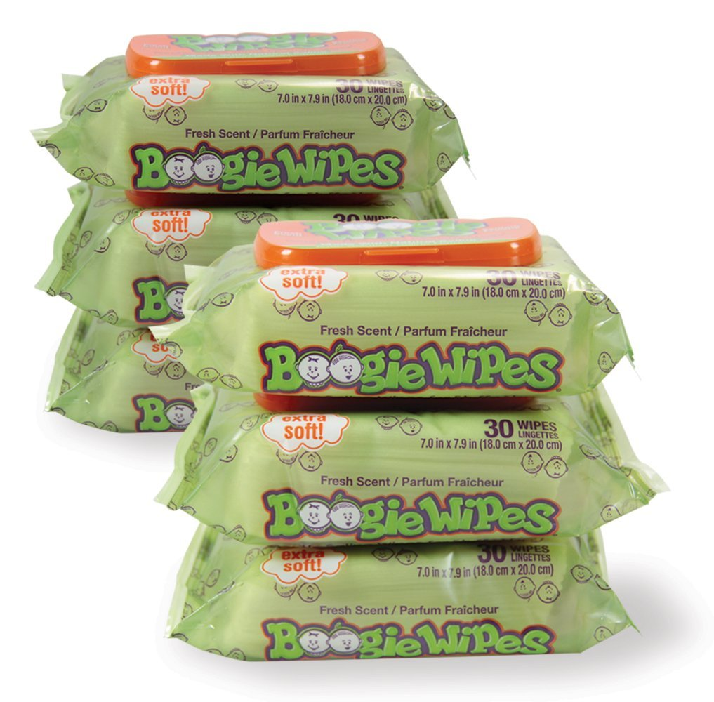 Boogie Wipes Boogie Wipes 30 Count (Pack of 6) BW-001 0305380