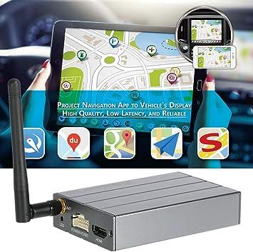 picK-me C1 Dongle de Pantalla WiFi para Coche, WiFi Mirror Box Compatible para iOS Android Airplay Miracast DLNA GPS Navigation, para el teléfono al Coche: Amazon.es: Electrónica