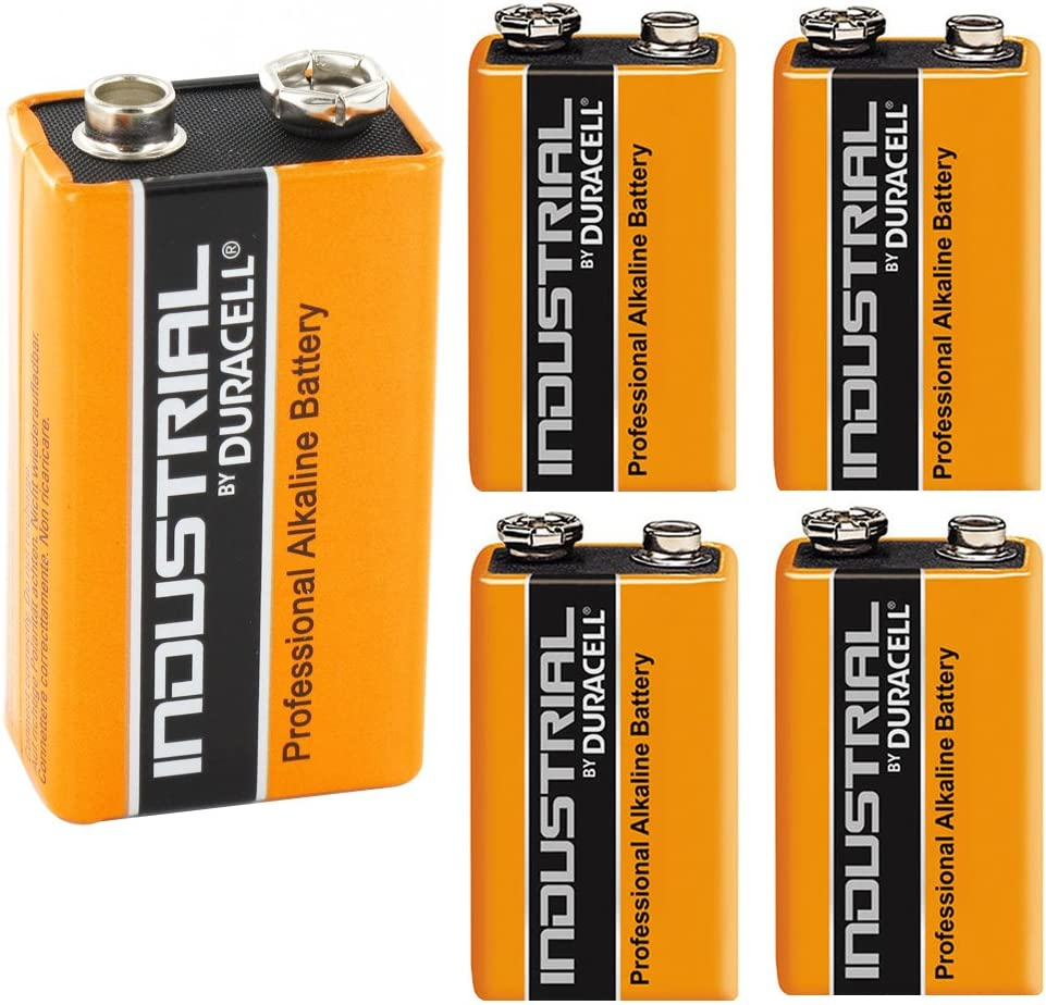 Duracell Industrial Alkaline Batterie Block 9v 6lf22 5 Elektronik