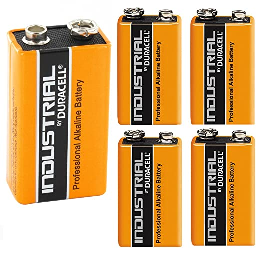 10 opinioni per Duracell Industrial Alkaline Batterie Block 9V 6LF22, 5 pieces