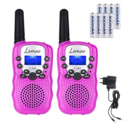 Amazon.es: Lomoo Walkie Talkie Recargable, Radio ...