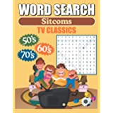 Word Search Sitcoms TV Classics: Large Print Word Find Puzzles
