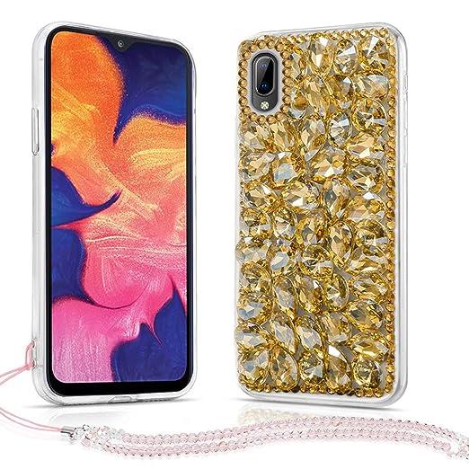 Amazon.com: Samsung Galaxy A10 Case, Bling Glitter Luxury ...