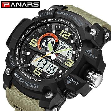 Relojes Hombre, Smartwatch, Reloj Inteligente Hombre, Reloj Hombre, Reloj Deportivo, Relojes Hombre Deportivos, Relojes Hombre, Relojes Deportivos,Brown: ...