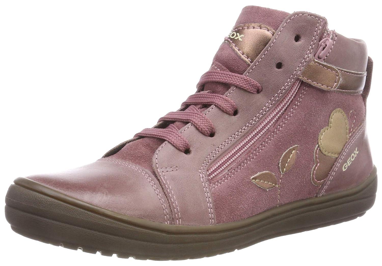 60e5a952 Geox J Hadriel Girl A, Zapatillas Altas para Niñas: Amazon.es: Zapatos y  complementos