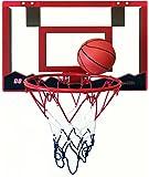 "Speedy Indoor Mini Basketball Hoop with 18"" x 12"" Shatterproof Backboard and Double Spring Breakaway Rim"