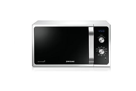 Samsung MG23F301ECW Encimera - Microondas (Encimera, Microondas con grill, Giratorio, Pull-out, Digital) color blanco