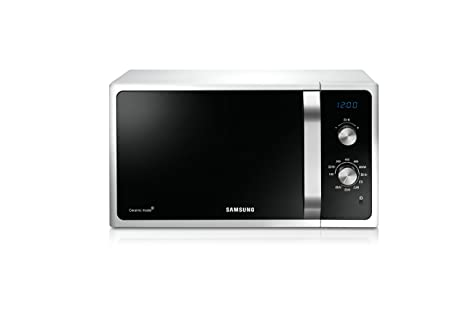Samsung MG23F301ECW Forno a Microonde, 800 W, Grill 1100 W, 23 l, 23 ...