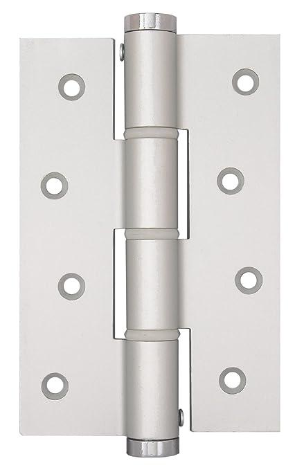 Justor SA 120 mm Silver Spring Bisagra, plata: Amazon.es ...