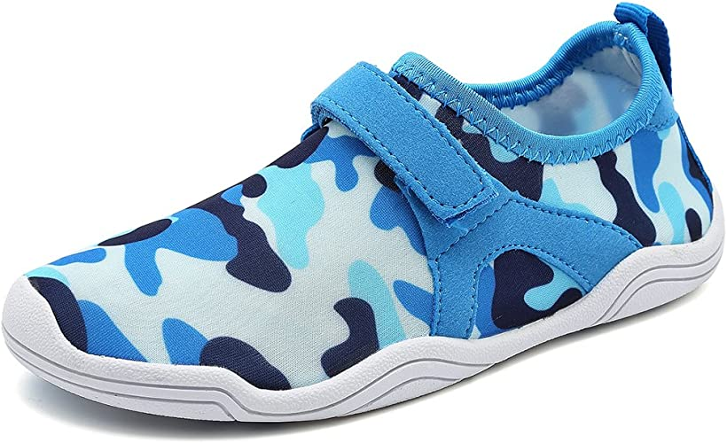 Amazon.com | Fantiny Boys & Girls Water Shoes Lightweight Comfort