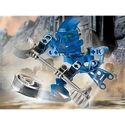 Lego Bionicle Matoran Mini Box Set Figure #8583 Hahli (Blue): Toys & Games