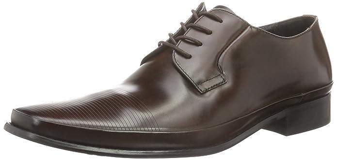 Steep Hill, Zapatos de Cordones Derby para Hombre, Negro (Black 001), 41 EU Kenneth Cole