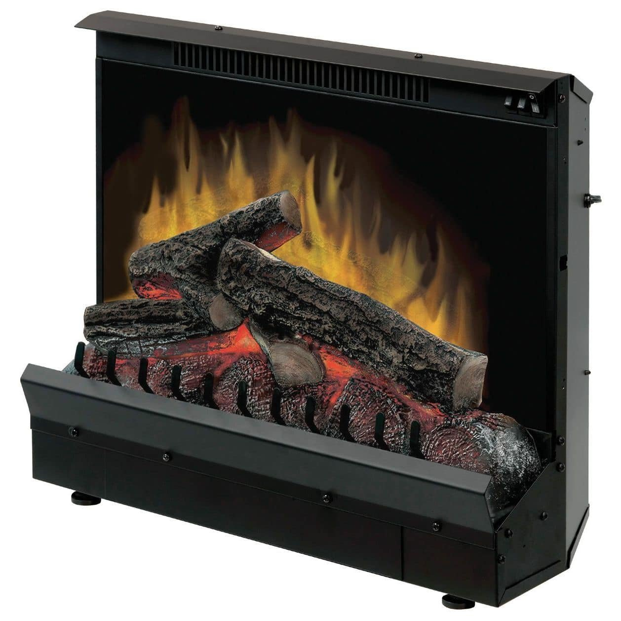 amazon com dimplex dfi2310 electric fireplace deluxe 23 inch