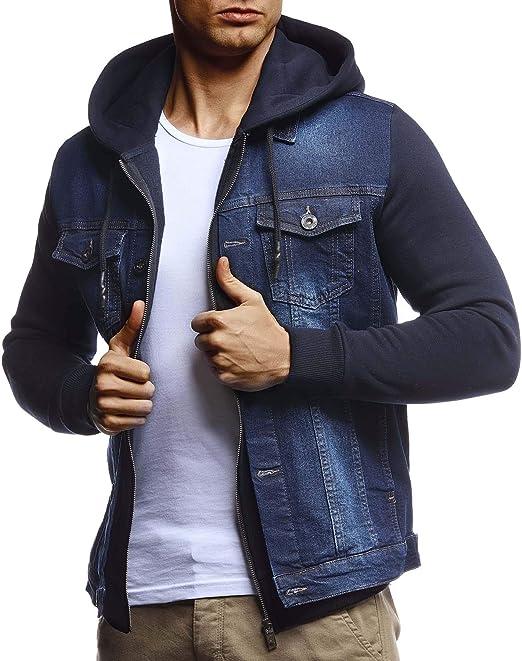 denim jeans jacke herren schwrz