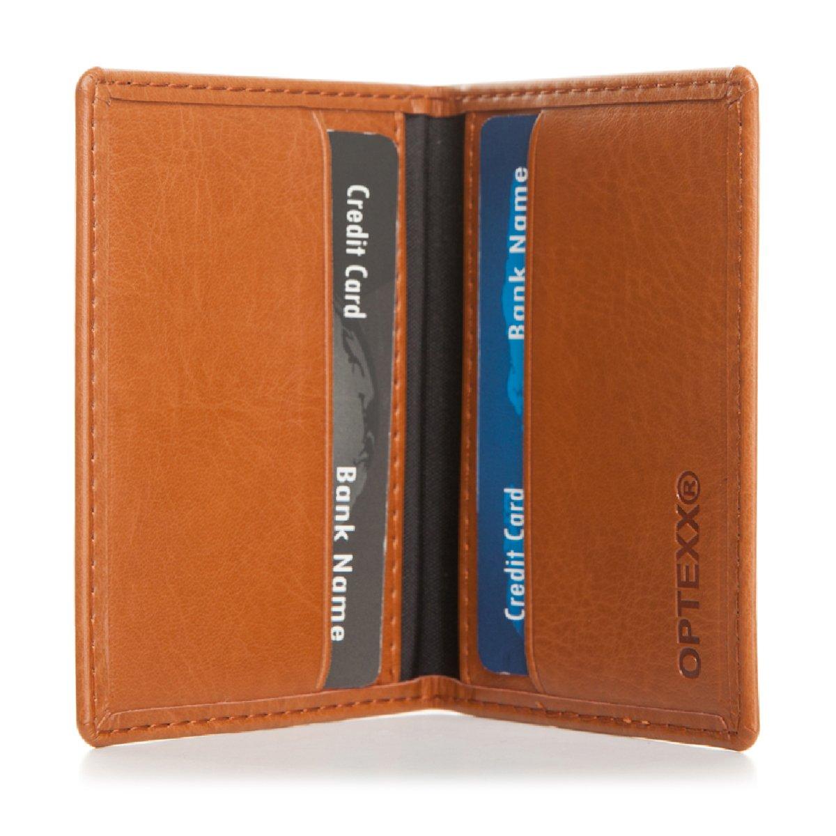 OPTEXX w5082015Carte Etui RFID pour Cartes de Crédit Homme/Femme avec protection certifiée TÜV et zerifiziert OPTEXX GmbH