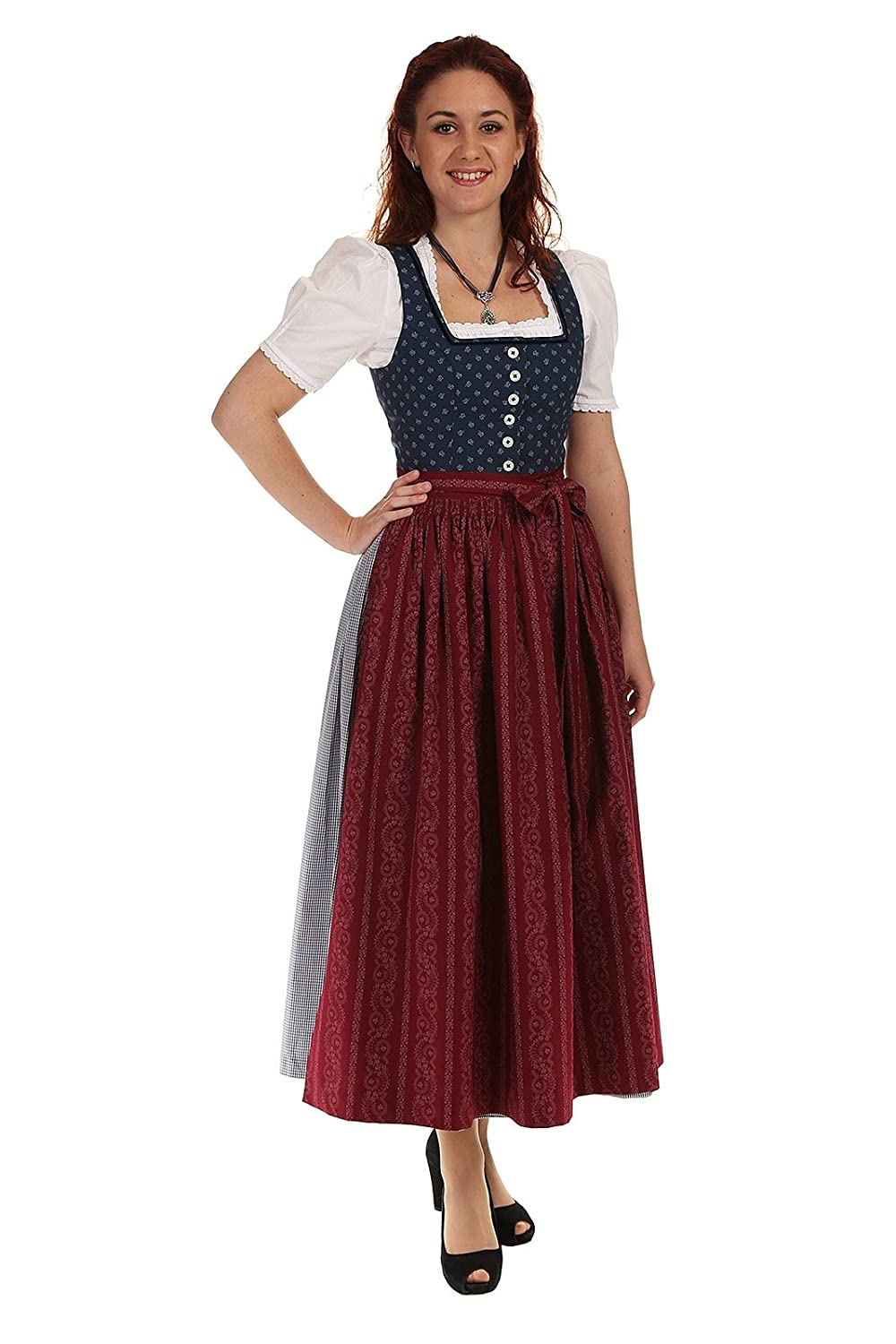 hammerschmid damen dirndl lang thiersee 28001 g nstig kaufen. Black Bedroom Furniture Sets. Home Design Ideas