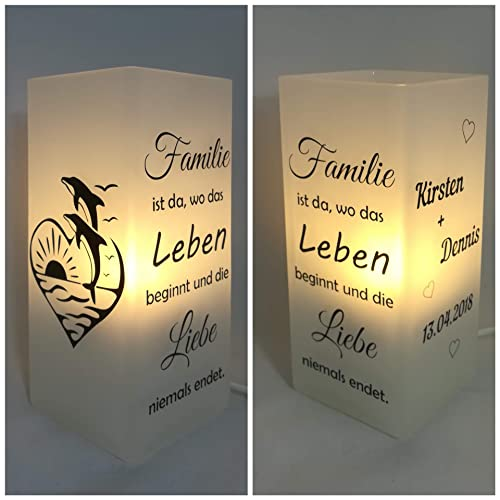 Individualisierbare Familienlampemeer Verschiedene