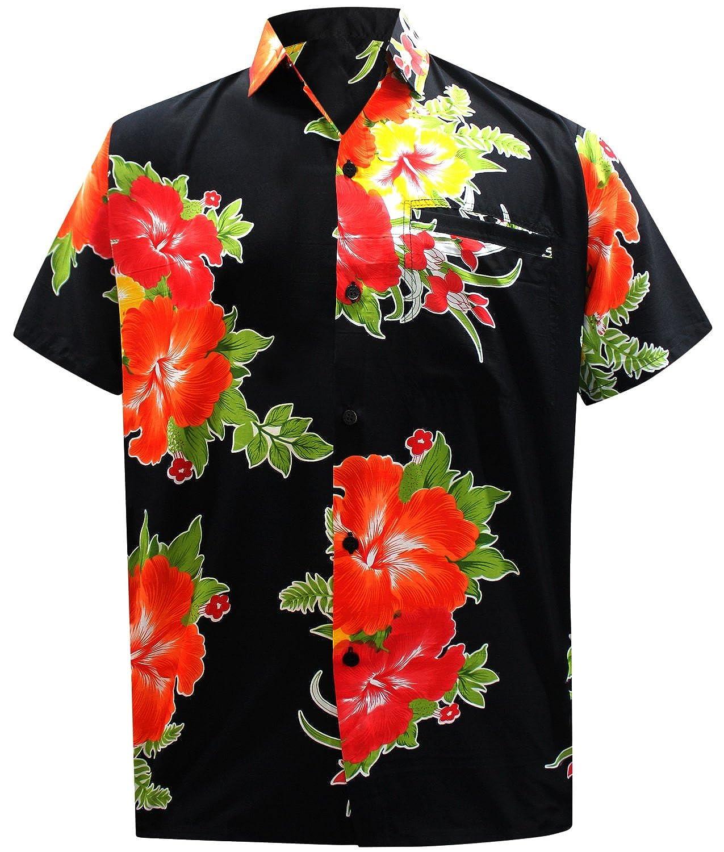 b01582a6 Online Cheap wholesale LA LEELA Button Down Short Sleeve Casual Pocket  Hawaiian Aloha Beach Shirts for Mens Dress Casual Button-Down Shirts  Suppliers