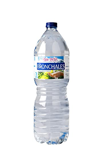 Agua mineral natural agua de bronchales botella 2l
