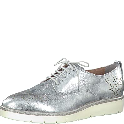 Tamaris Schuhe 1 1 23303 28 Bequeme Damen Schnürer, Schnürschuhe, Halbschuhe, Sommerschuhe für modebewusste Frau,