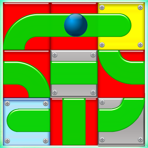 Roll It Slide The Ball Puzzle ()