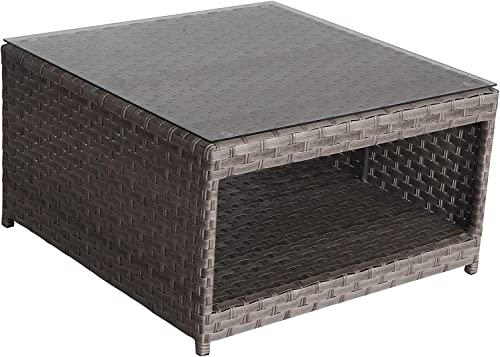SunHaven Resin Wicker Outdoor Patio Furniture Set