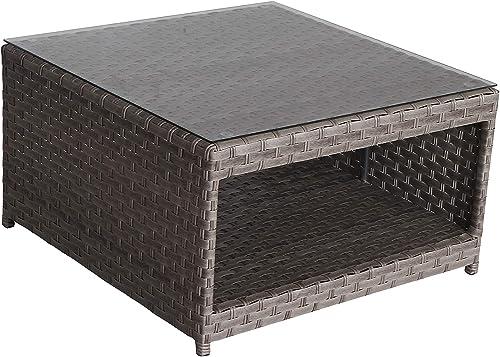 SunHaven Resin Wicker Outdoor Patio Furniture Set