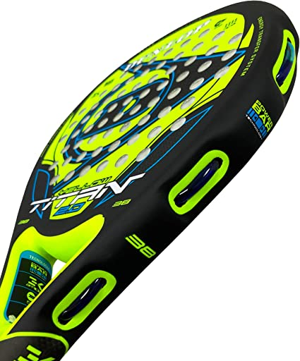 DUNLOP Pala de Padel Titan 2.0 Yellow/Blue: Amazon.es: Deportes y ...