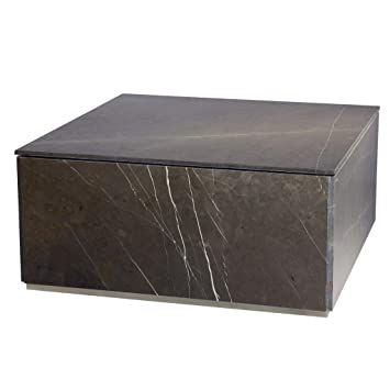 Miraculous Amazon Com Global Views Gorgeous Modern Gray Marble Slab Ncnpc Chair Design For Home Ncnpcorg