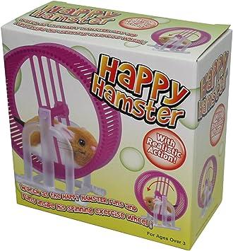 Henley Imports Happy Hamster - Juego de Mesa, diseño de hámster con Rueda: Amazon.es: Juguetes y juegos