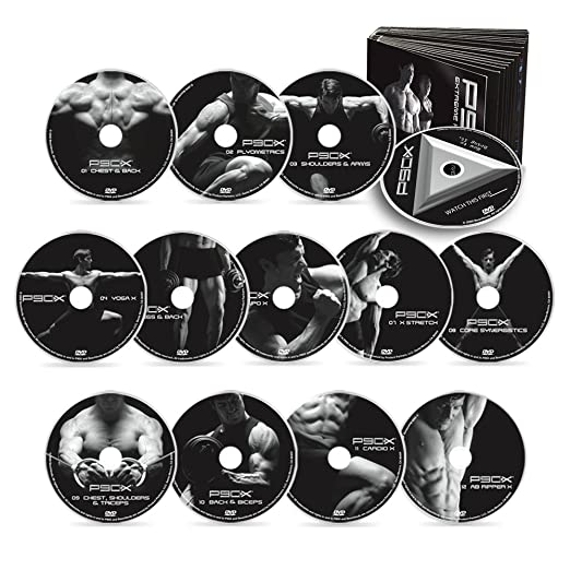 Amazon.com : P90X DVD Workout - Base Kit : Exercise And Fitness ...