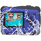GDC5261 Waterproof Digital Camera with 4x Digital Zoom / 8MP / 2 Inch TFT LCD Screen Waterproof Camera for Kids (Blue)