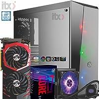 PC ITX Gamer I7 8700K, Z370M Aorus Gaming (GeForce GTX 1070Ti) WaterCooler, 16GB, SSD 240GB