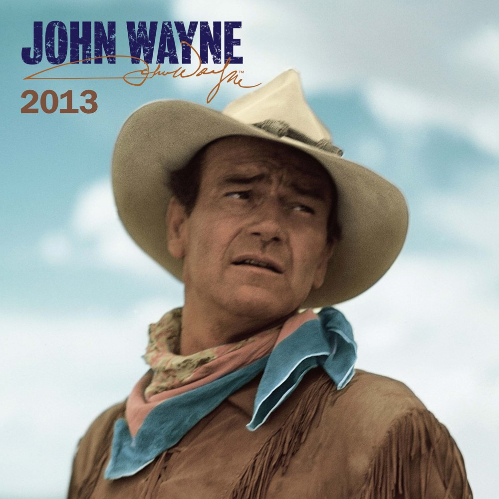 John Wayne 2013 Faces Square 12X12 Wall (Multilingual Edition) by BrownTrout Publishers