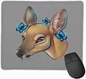 """The Doe-Life is Strange Stitched Edge Laptop Gaming Mouse Pad Computer Mousepad 11.8""""X9.8"""""""