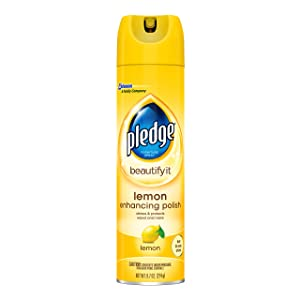Pledge Furniture Enhansing Spray, Lemon, 9.7 OZ