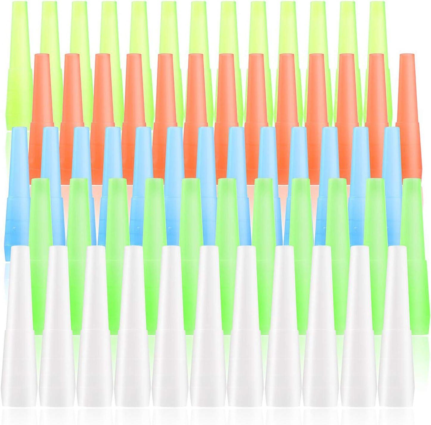 Colmanda Boquillas Desechables, 200 Piezas Boquillas de Higiene Envasadas Individualmente, Boquillas para Cachimba o Shisha, para Pipa de Agua, Accesorio Universal, Color Aleatorio