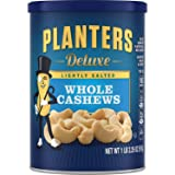 Planters Deluxe Whole Cashews Lightly Salted, 2