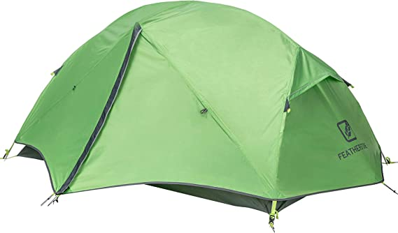 Featherstone 2 Person Backpacking Tent Lightweight for 3-Season Outdoor Camping