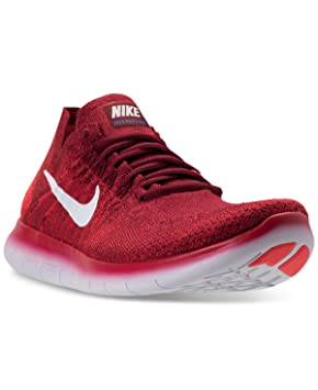 Nike Free RN Flyknit 2017, Chaussures de Trail Homme, Rouge (Team