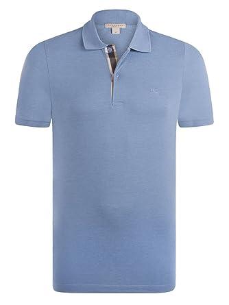 BURBERRY - Polo Brit - Homme - Bleu Ciel (L)  Amazon.fr  Vêtements ... 14f7e897237