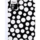 Mead Composition Book/Notebook, Wide Ruled Paper, 70 Sheets, Fashion, Assorted Designs, Design Will Vary, 1 Count (09358…
