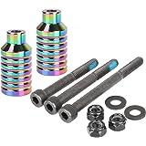 Amazon.com: Clavijas de aluminio CNC para patinetes con ...